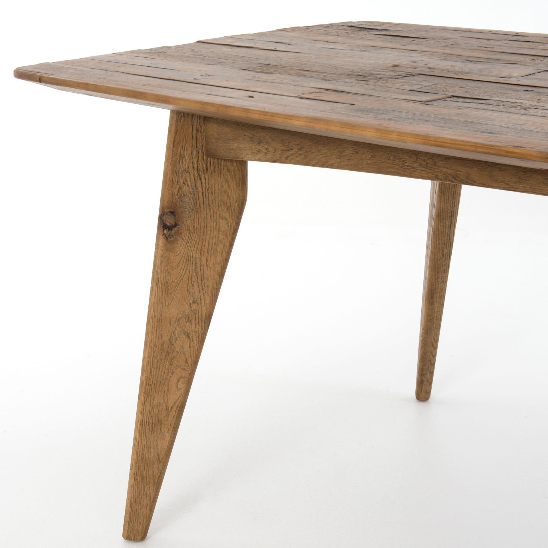 Four Hands Hughes Danny Small Dining Table With Splayed Legs