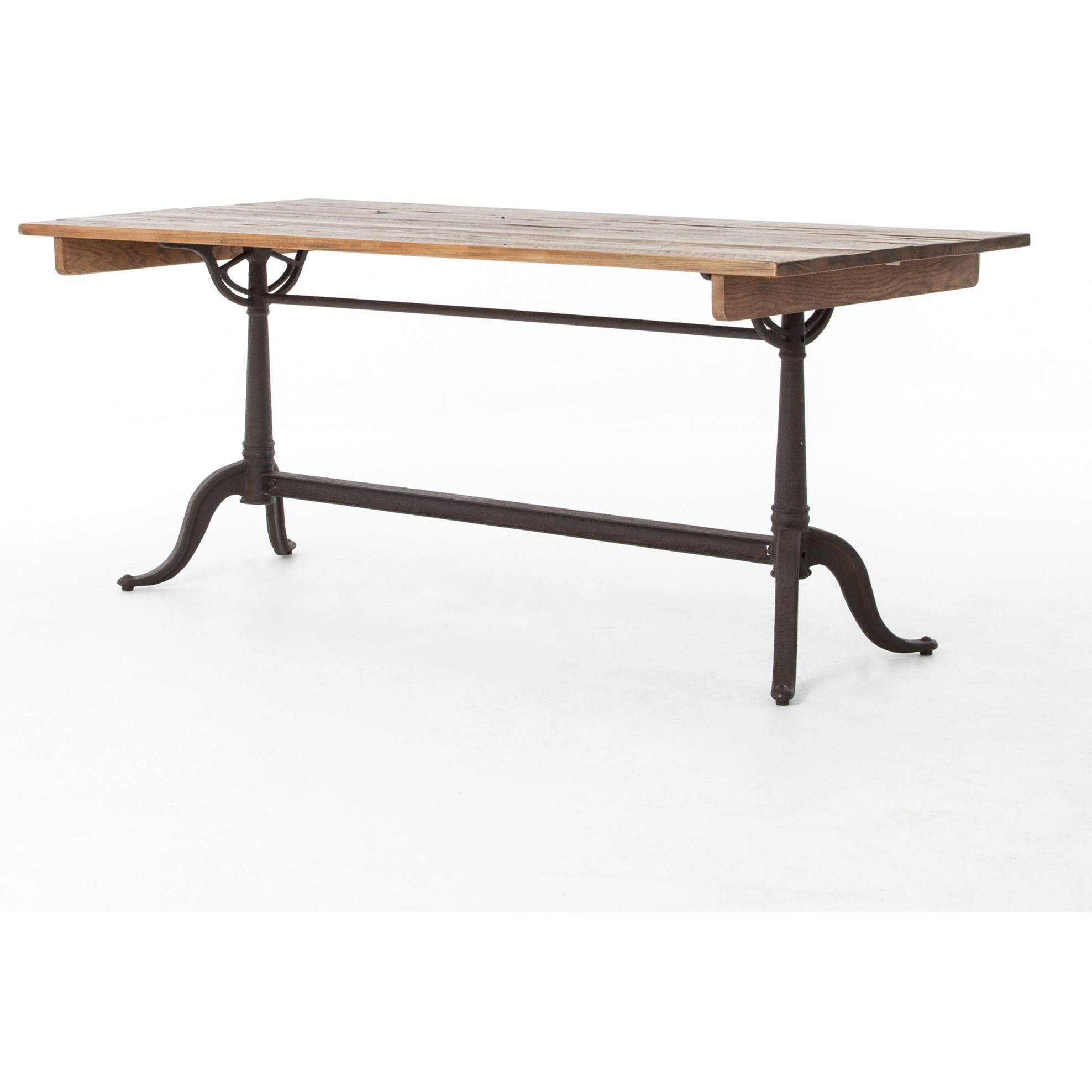Four Hands Hughes Parisian Dining Table With Trestle Base