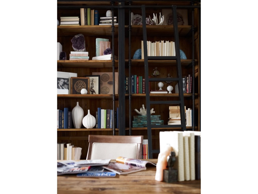 Interior Style IrondaleIvy Matte Black Bookcase