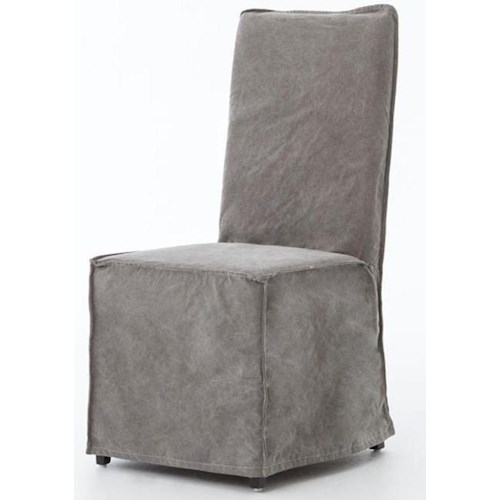Four Hands Irondale Fully Upholstered Downey Dining Chair
