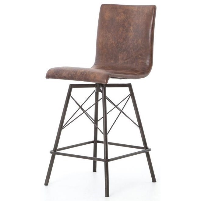 Four Hands Irondale Diaw Counter Height Stool with Havana  : products2Ffourhands2Fcolor2Firondale20cirdcird v8 b1jpgscalebothampwidth500ampheight500ampfsharpen25ampdown from www.belfortfurniture.com size 500 x 500 jpeg 26kB