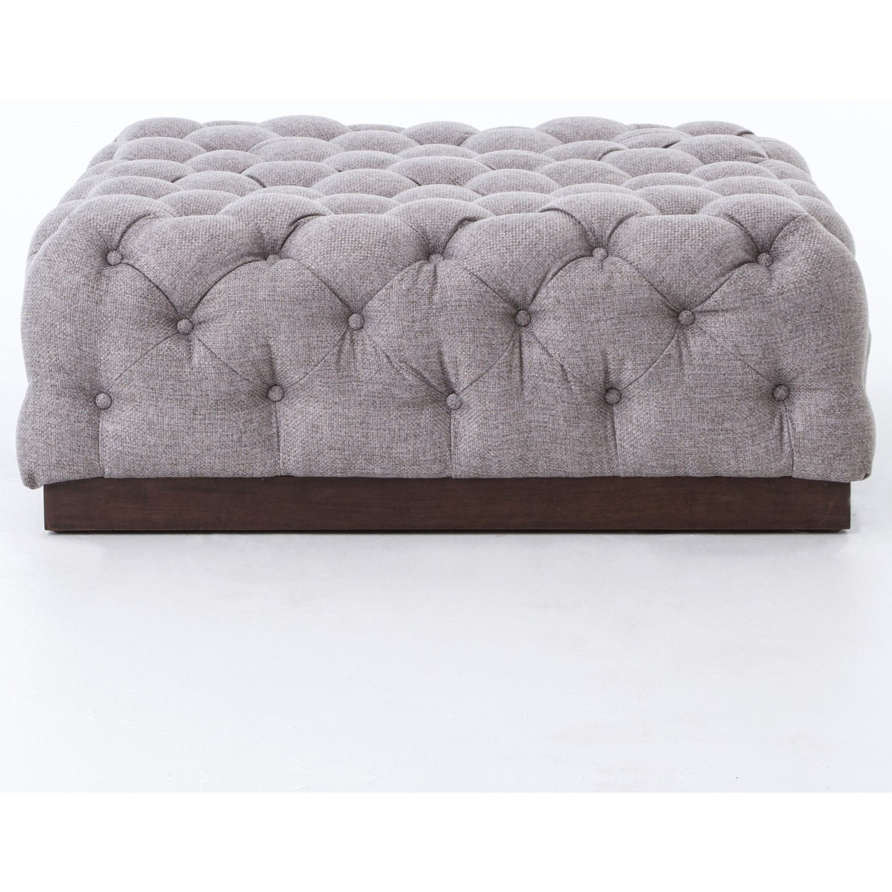 Four Hands Kensington Tufted Plateau Cocktail Ottoman | Belfort Furniture |  Ottoman
