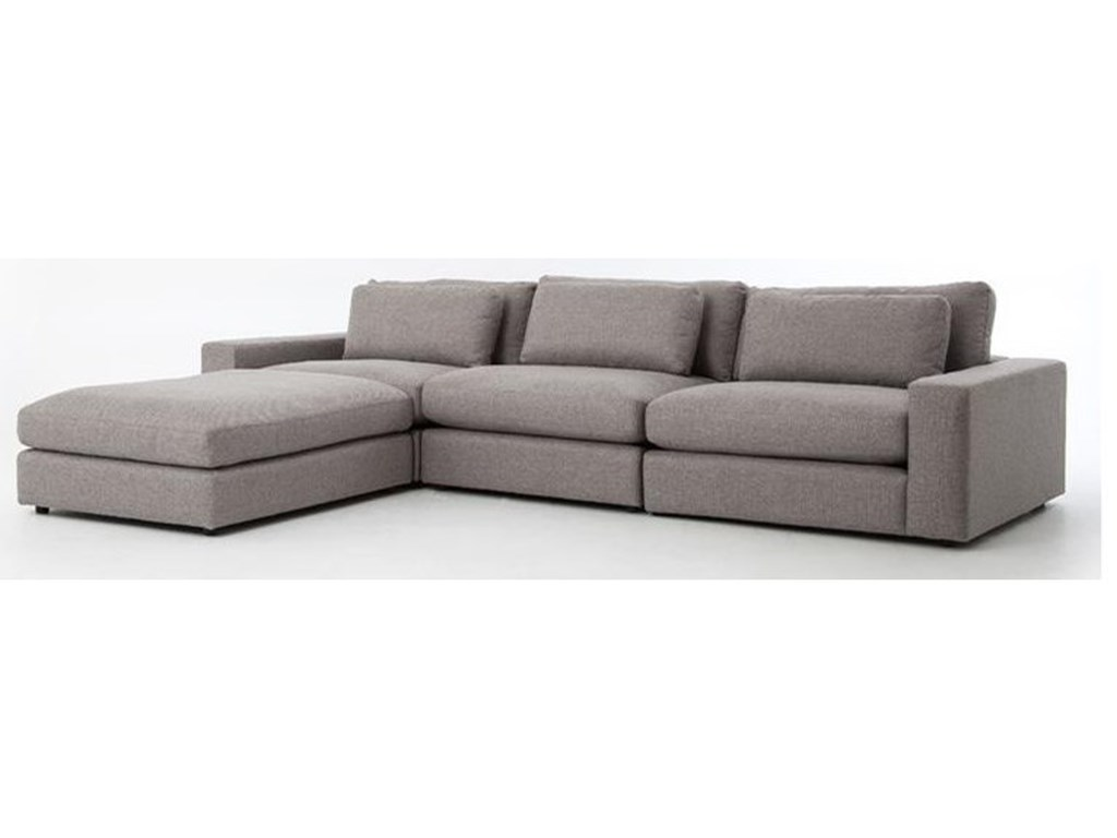 Interior Style KensingtonBloor Sofa with Ottoman
