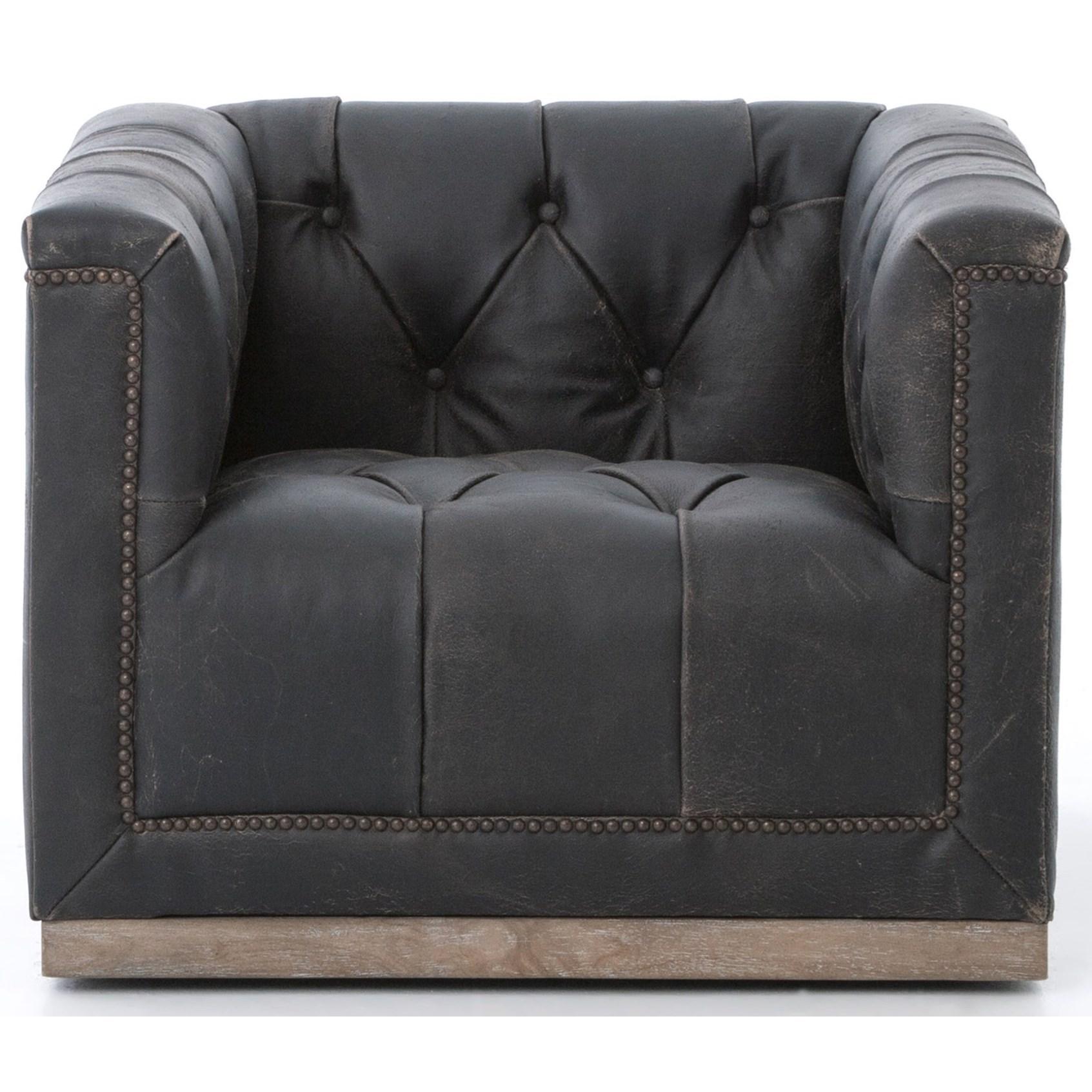 Four Hands KensingtonMaxx Swivel Chair ...