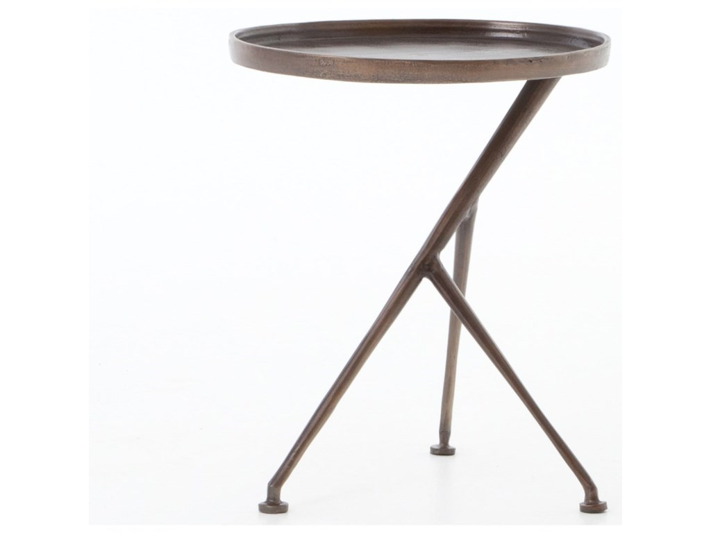 round teak furniture patio accent and small straight table side aspen blok concrete tables