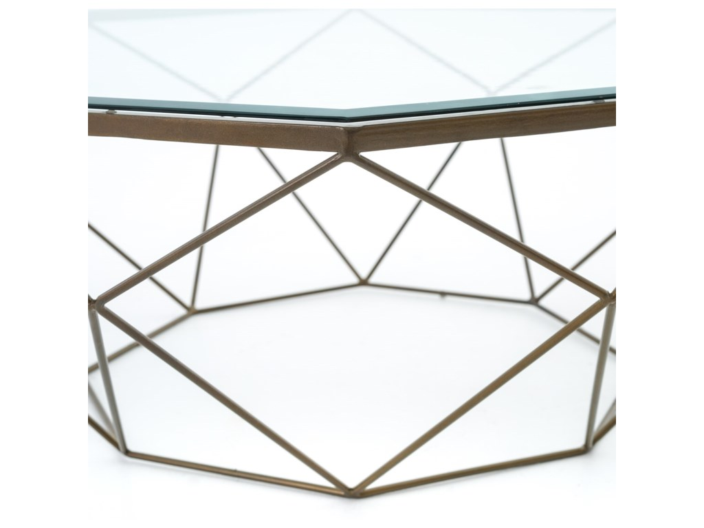 Four Hands MarlowGeometric Coffee Table