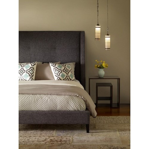 Four Hands Metro Madison Upholstered King Bed
