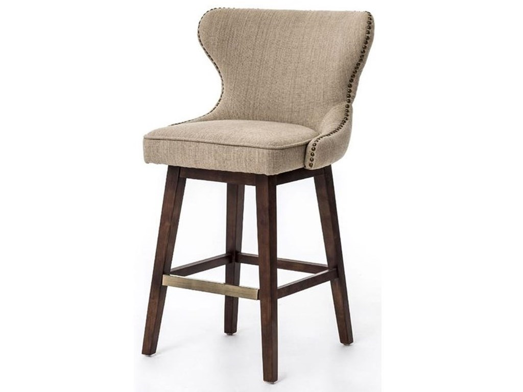 Four Hands Metrojulie Swivel Counter Height Stool