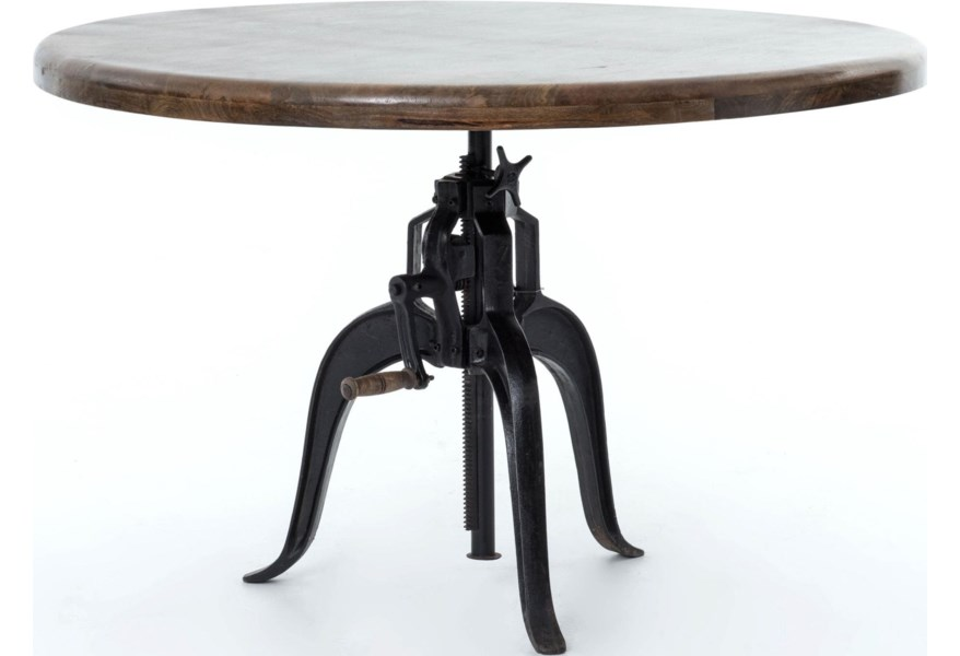 Rockwell Adjule Round Dining Table