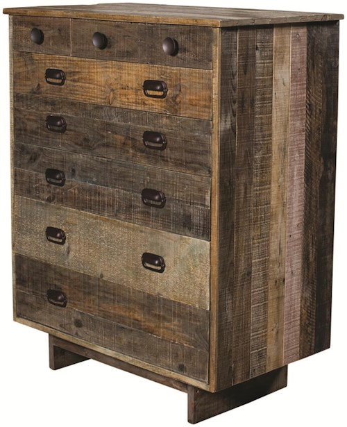 Four Hands Sierra Freel 6-Drawer Chest with Metal Drawer Pulls
