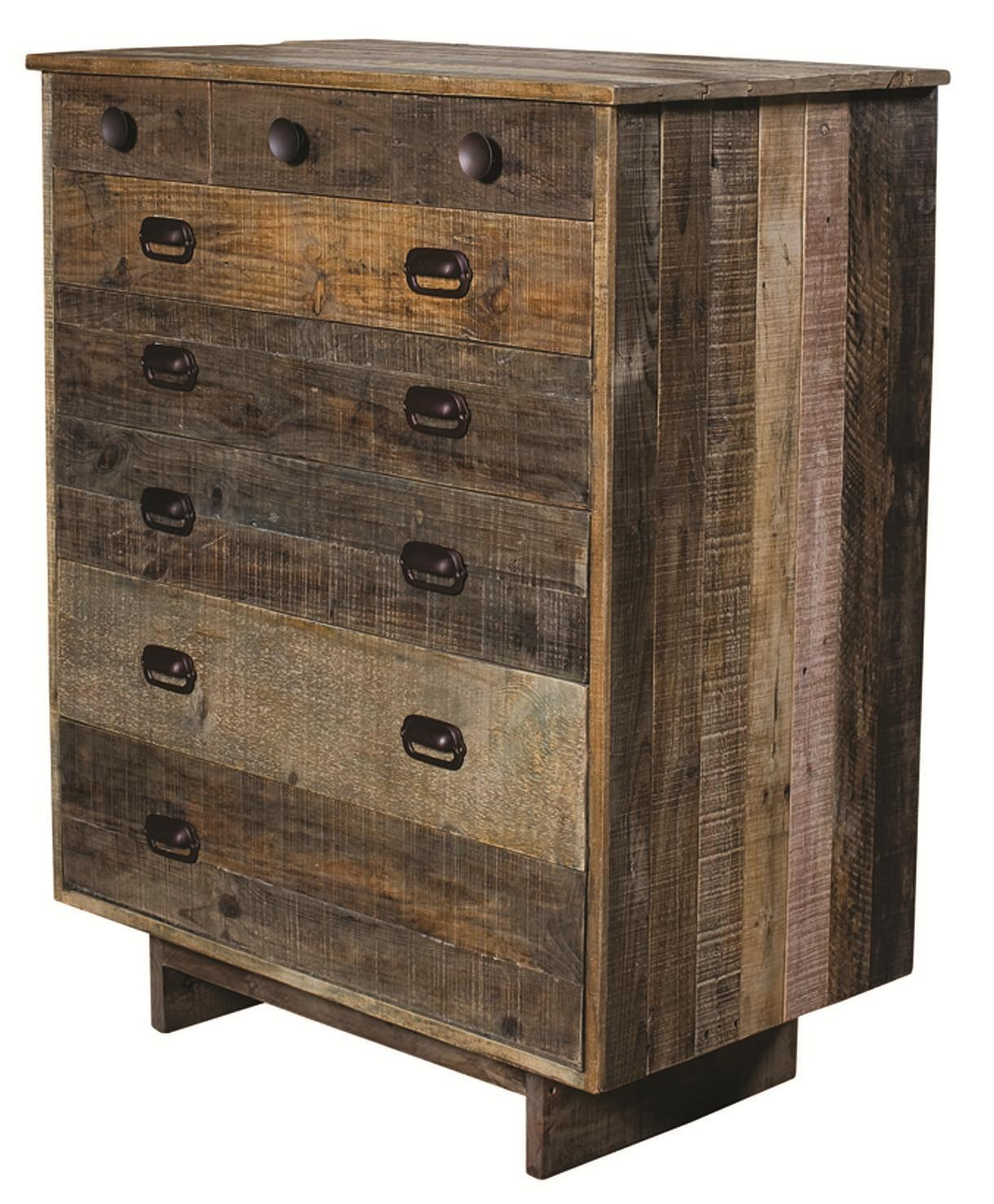 Four Hands Sierra Freel 6 Drawer Chest With Metal Drawer Pulls