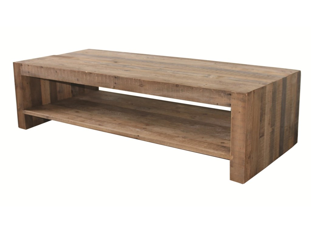 Four hands sierra beckwourth coffee table with single shelf four hands sierra beckwourth coffee table with single shelf geotapseo Gallery