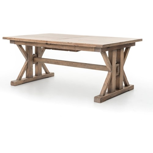 Four Hands Tuscan Spring Tuscan Spring Farmhouse Dining Table
