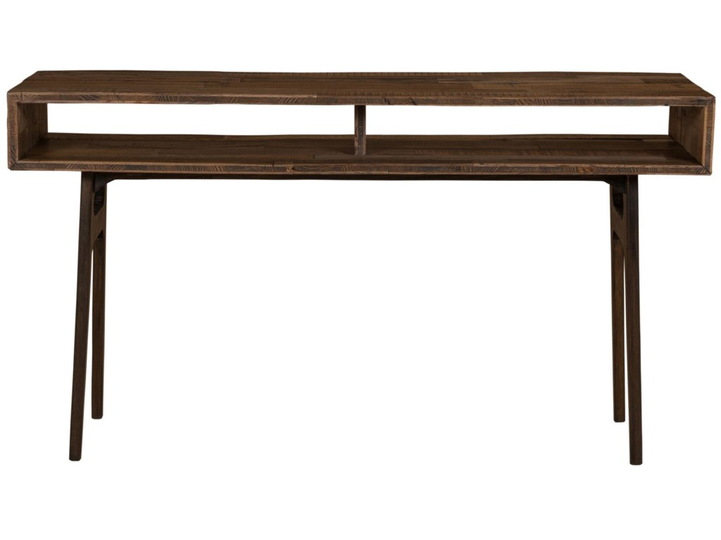 Four Hands Wesson Nico Console Table With Open Compartments
