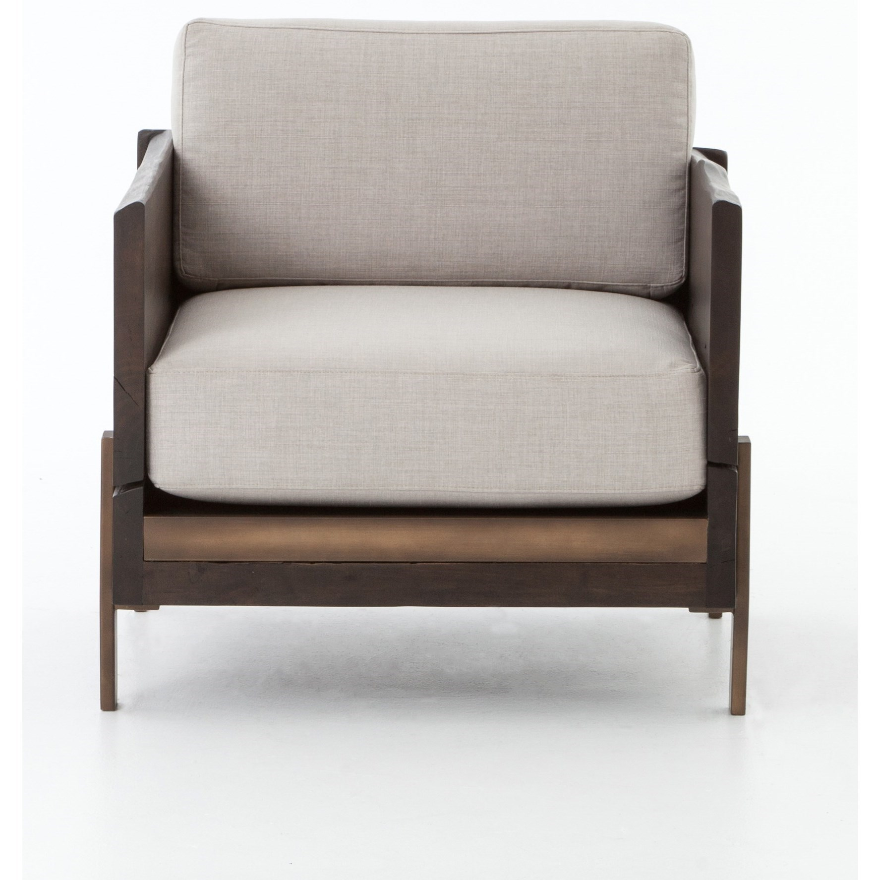 Superbe Four Hands WessonUpholstered Armchair ...