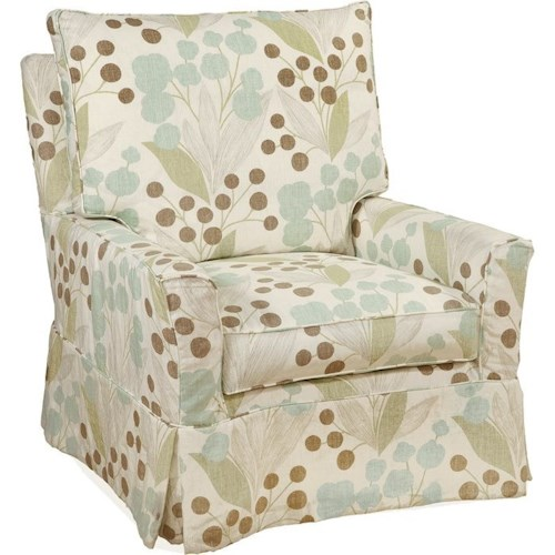 Four Seasons Furniture Accent Chairs Upholstered Chair with Flared Arms