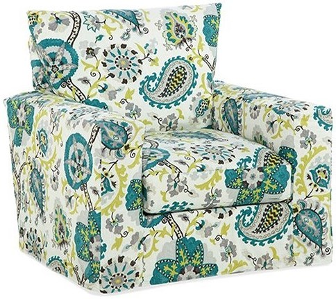 Four Seasons Furniture Accent Chairs Swivel Upholstered Chair
