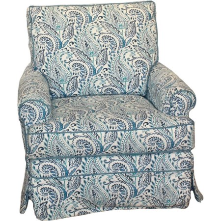 Transitional Sarah Swivel Glider