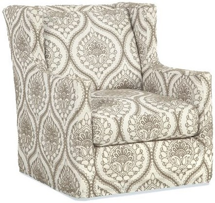 Four Seasons Furniture Accent Chairs Upholstered Chair with Wings