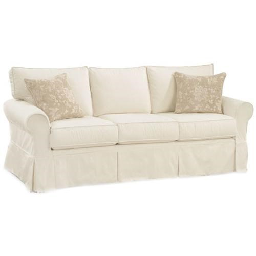 Four Seasons Furniture Alexandria Casual Queen Sleeper Sofa With Rolled Arms Good Looking
