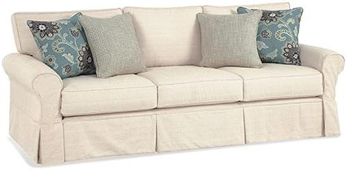 Four Seasons Furniture Alexandria Casual Grande Sofa with Rolled Arms