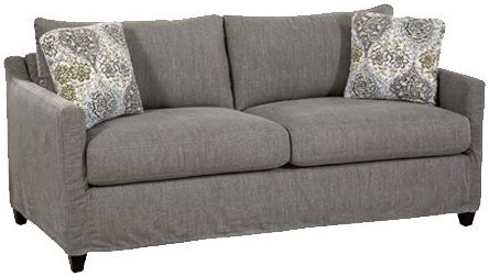 Four Seasons Furniture Mason Casual Sofa with Track Arms
