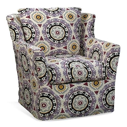 Four Seasons Furniture Porter F Upholstered Swivel Glider Chair