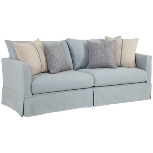 Four Seasons Furniture Ryane Casual Sofa with Track Arms