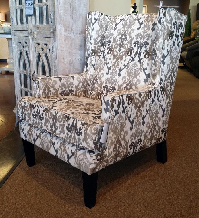 Franklin ChrissyMarble Wing Chair