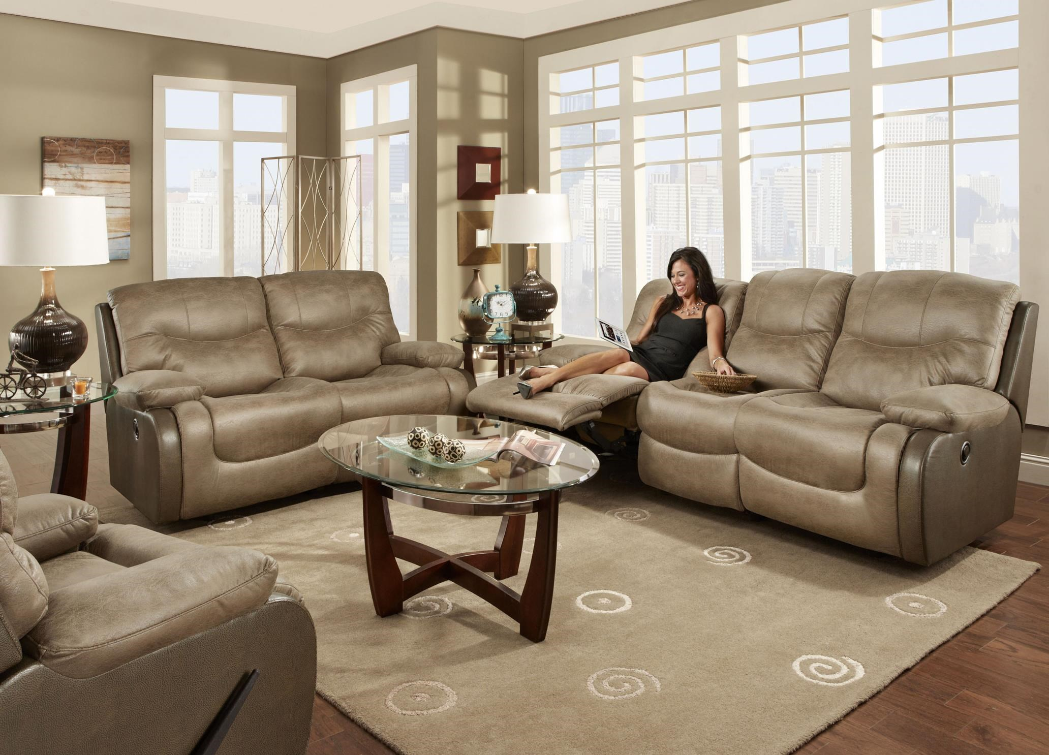 Nice Franklin HolbrookDouble Reclining Sofa; Franklin HolbrookDouble Reclining  Sofa Idea