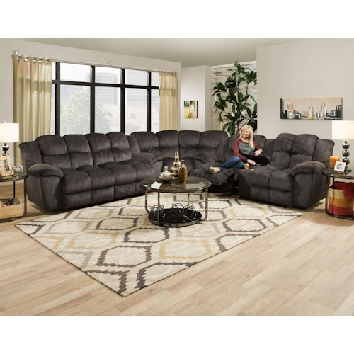 Franklin 461 Reclining Sectional Sofa