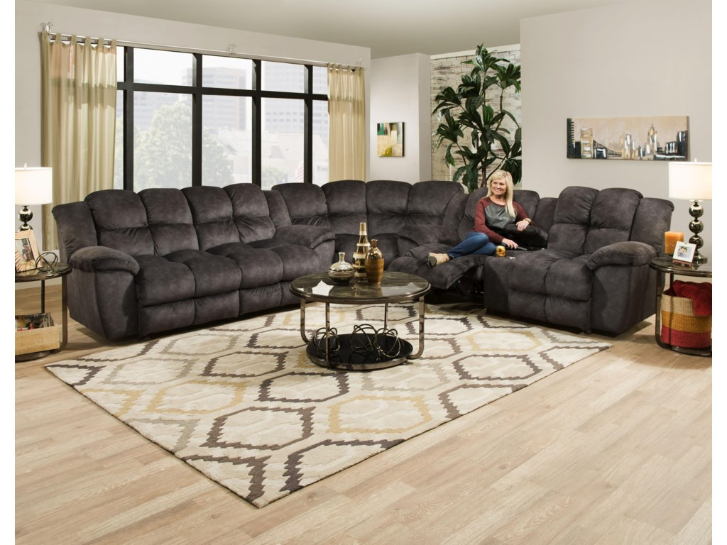 Franklin 461Double Power Reclining 2 Seat Sofa