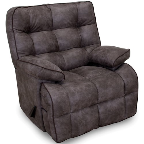 Franklin Venture Rocker Recliner with Pillow Top Arms