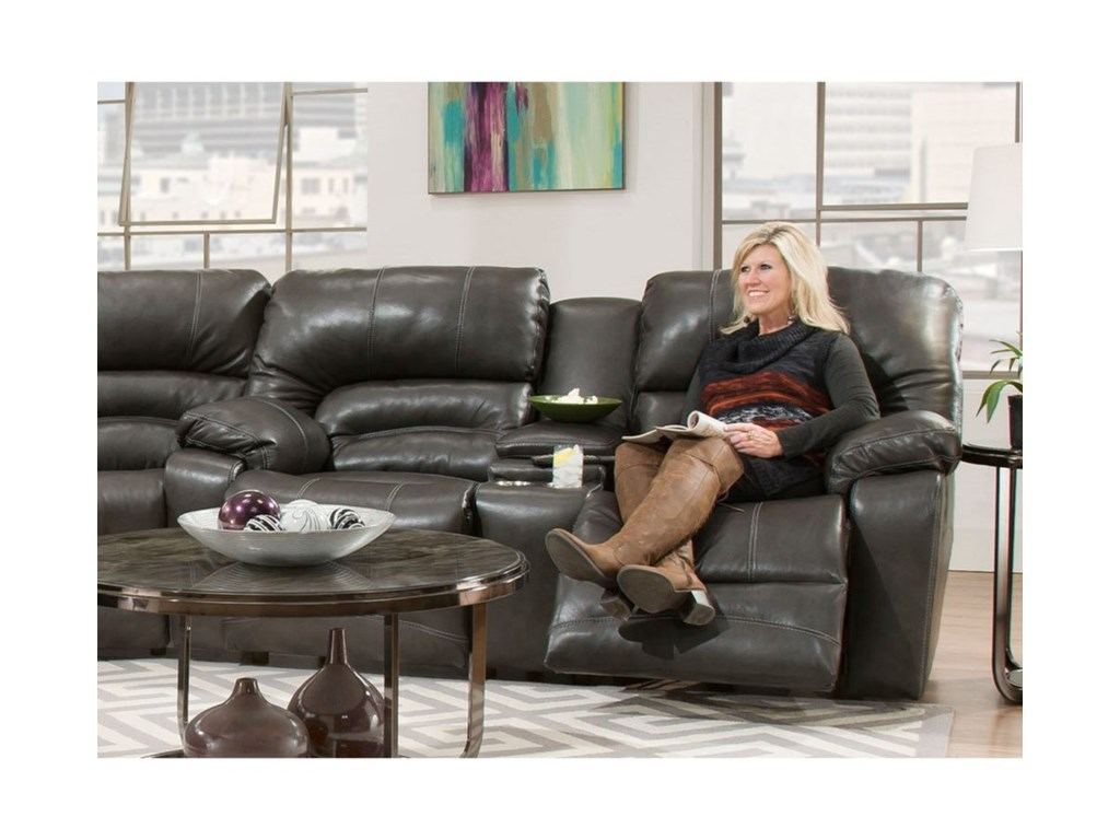 Franklin LegacyReclining Console Loveseat