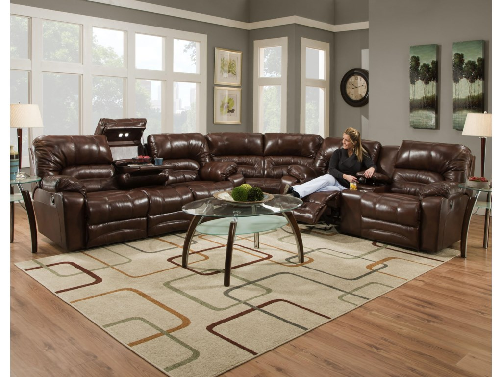 Franklin LegacyReclining Sectional Sofa