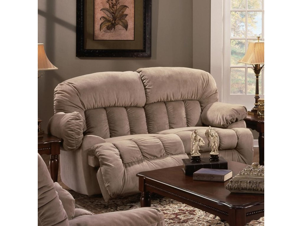 Franklin 524Rocking Reclining Loveseat