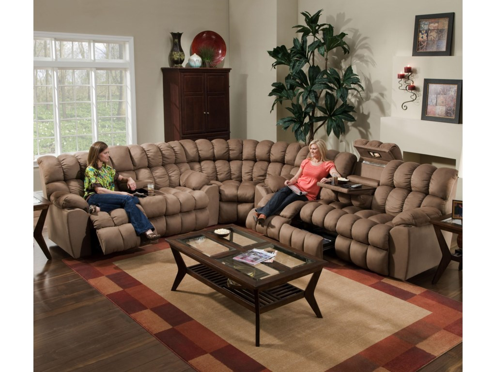 Franklin 542Sectional
