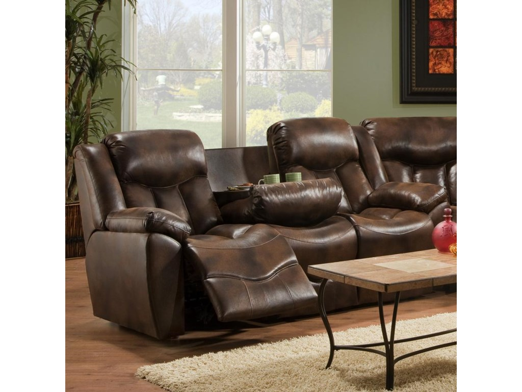 Franklin 564Reclining Sofa with Table