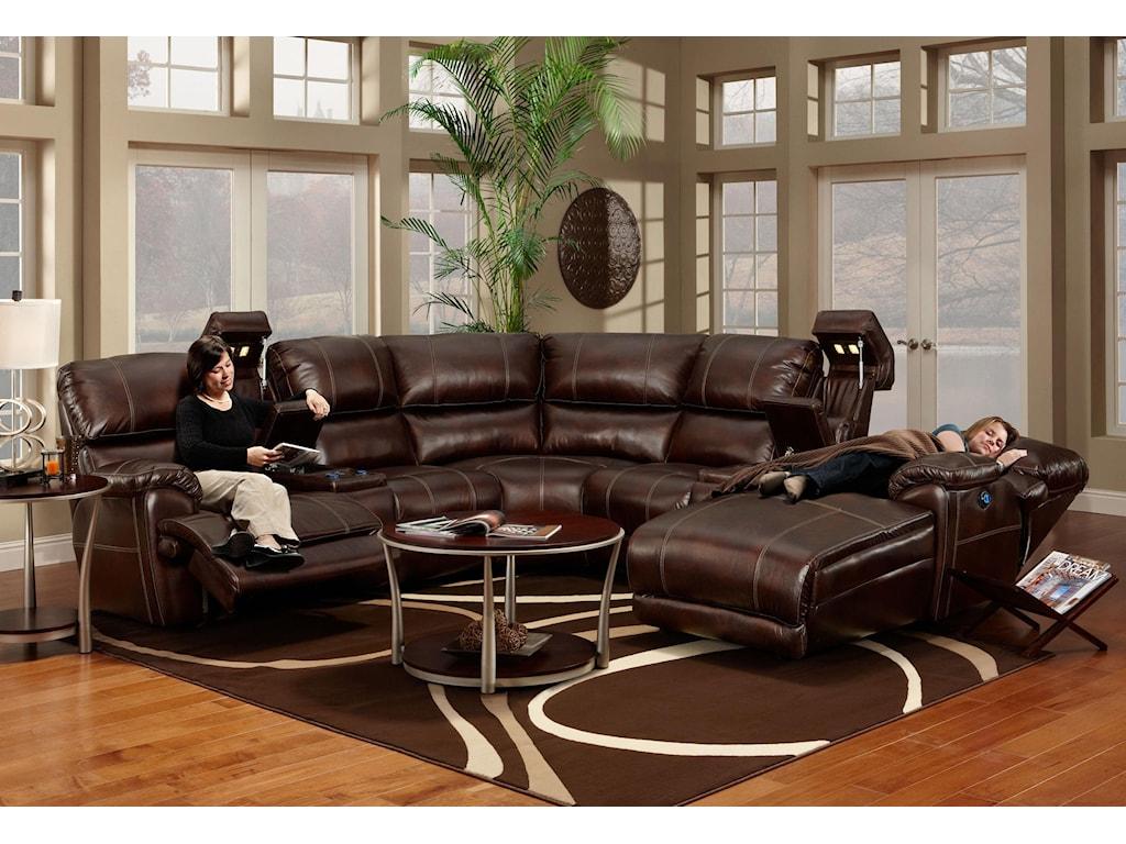 Franklin 572Sectional Sofa