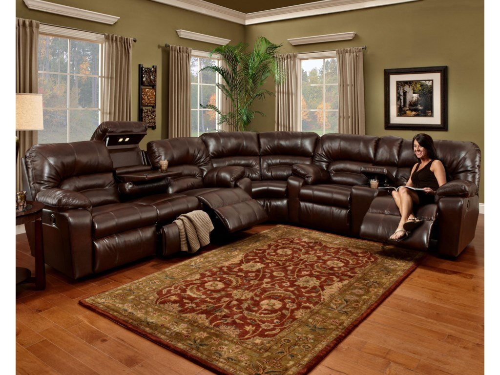 Franklin 5963 Piece Sectional