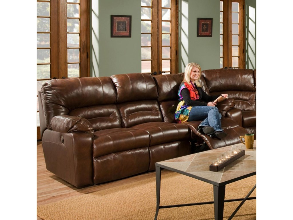 Franklin 596Reclining Sofa with Table