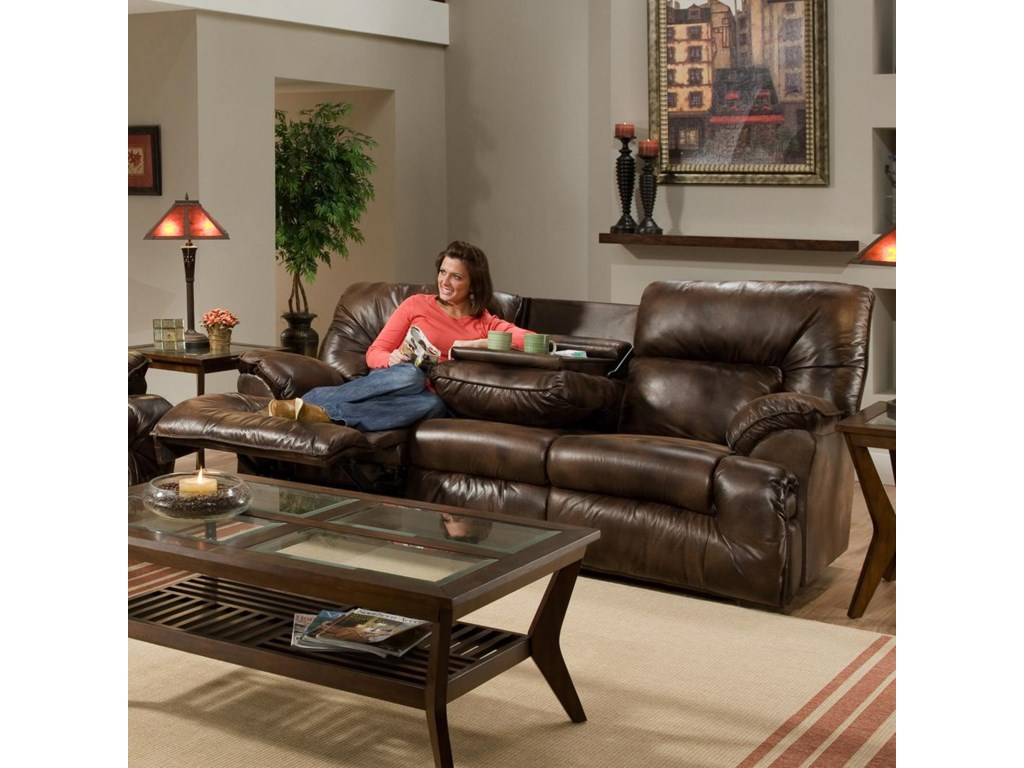 Franklin 6460sofa Recl Table