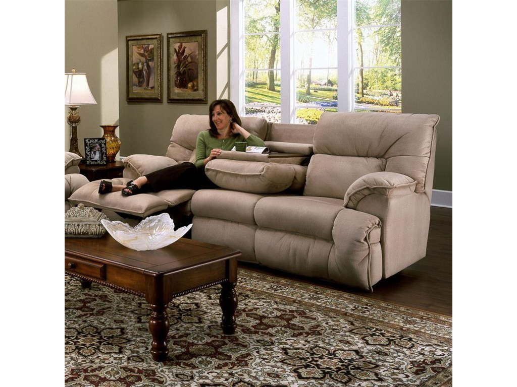 Franklin 6460Sofa Recl / Table
