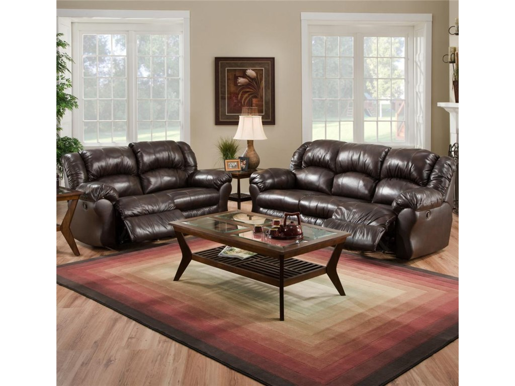 Pictured with Reclining Sofa