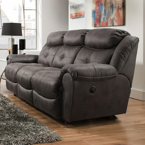 reclining sofa - lisbonfranklin - wilcox furniture - reclining