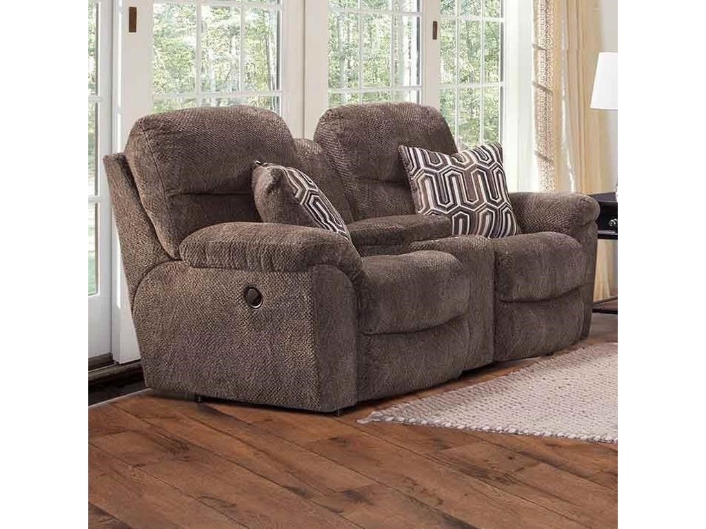 Franklin 710Power Reclining Console Loveseat