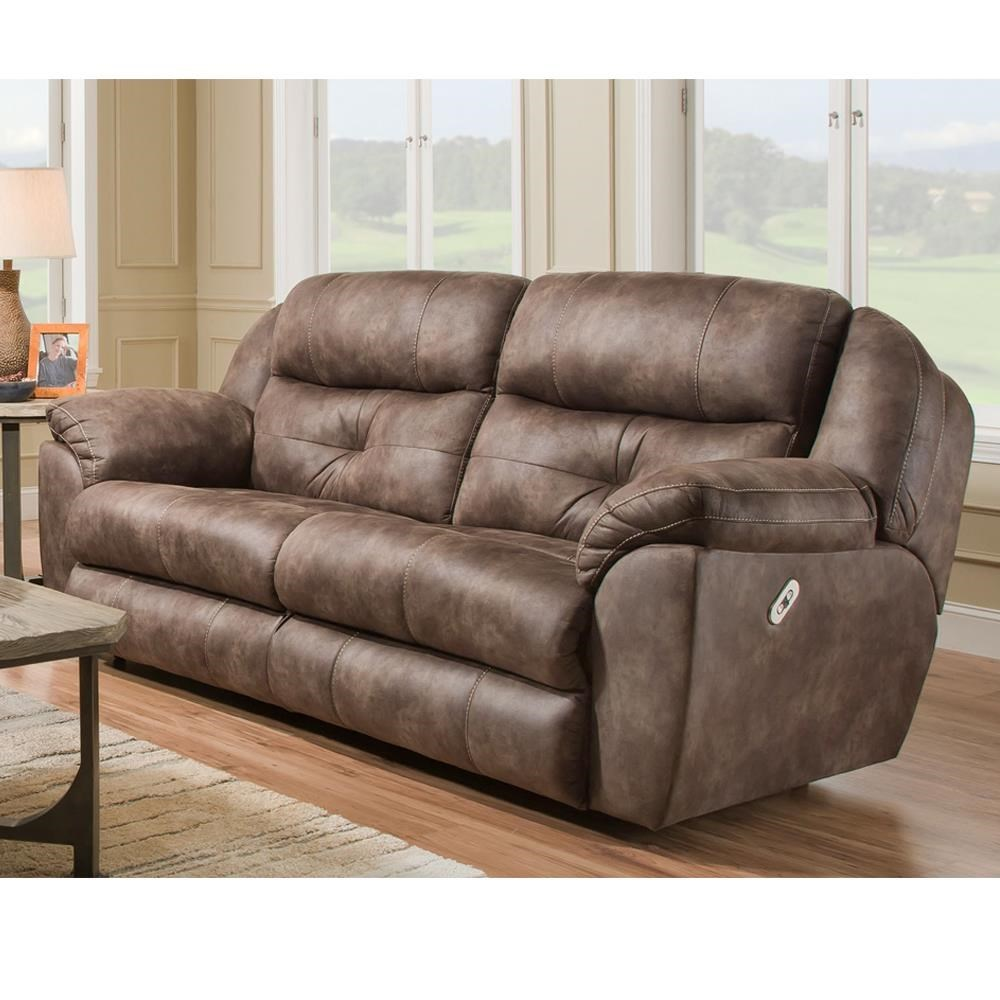 Franklin Conway Power Reclining Sofa with Power Headrest - Great American Home Store - Reclining Sofas  sc 1 st  Great American Home Store & Franklin Conway Power Reclining Sofa with Power Headrest - Great ... islam-shia.org
