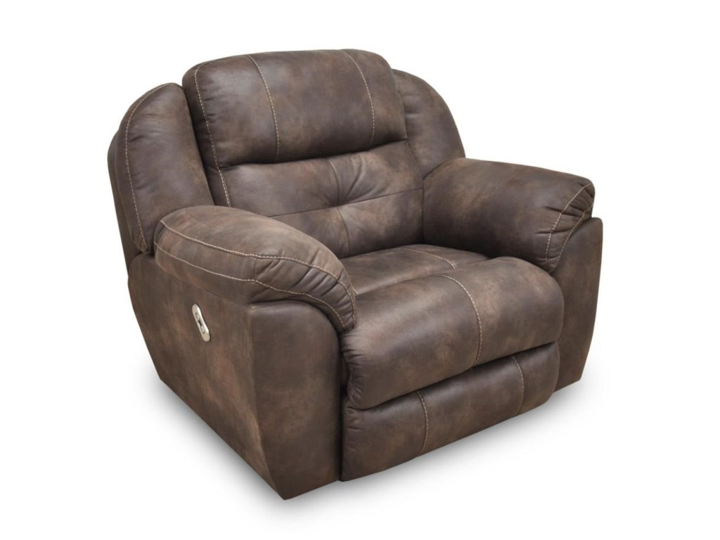 Franklin Conway Power Recline Chair & a Half with Power Headrest - Great  American Home Store - Three Way Recliners - Franklin Conway Power Recline Chair & A Half With Power Headrest