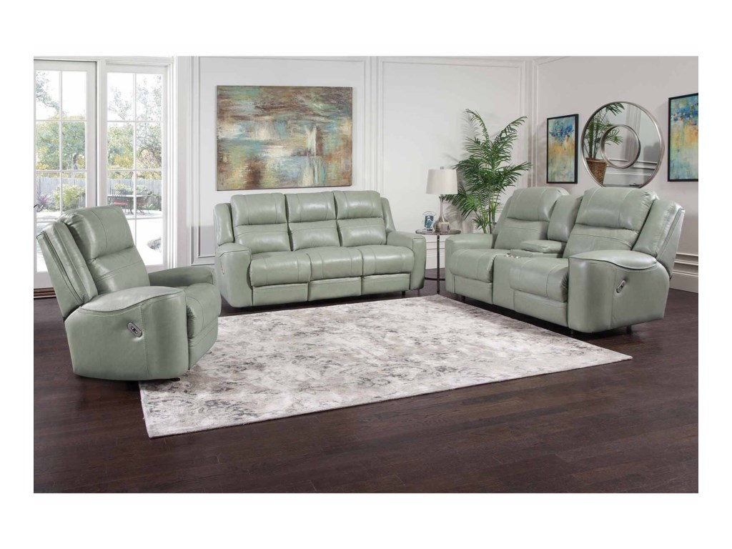 Franklin 762Dual Power Reclining Sofa with USB Port