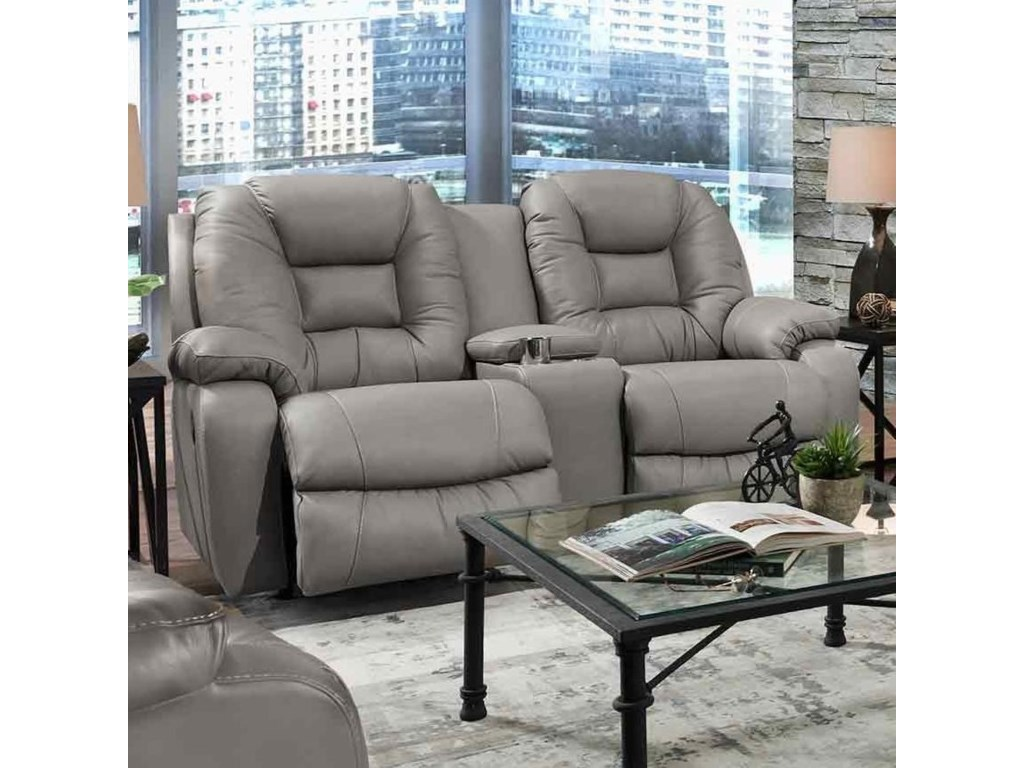 Franklin 794Reclining Loveseat with Console
